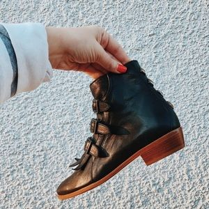 Modern Vice Real Leather Bootie